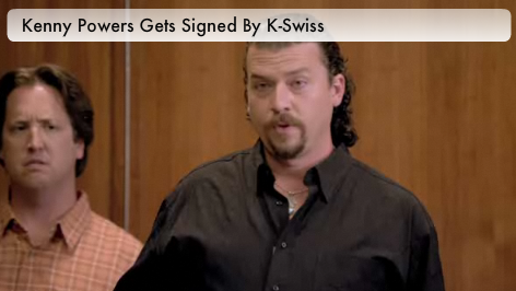 Kenny Powers K-Swiss